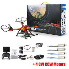 JJRC H11D 2.4G 6-Axis Gyro 5.8G FPV 2.0MP Camera RC Quadcopter + 4 CW/CCW Motors