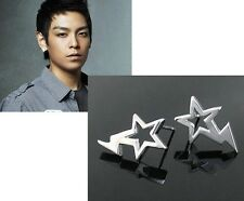 Korean Band Big Bang Leader T.O.P Star Flash earrings
