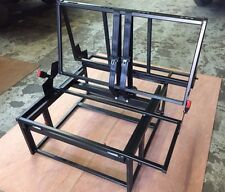 VAUXHALL VIVARO, TRAFIC, PRIMASTAR ROCK ROLL BED SEAT FRAME 3/4 WITH SEAT BELTS
