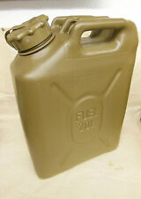 Scepter MFC 20L/5Gal Field Drab Military Gas Petrol Can NEW OFFROAD w CAP STRAP
