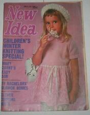 New Idea Magazine June 5   1971 -  Mary Quant's Baby -Patterns