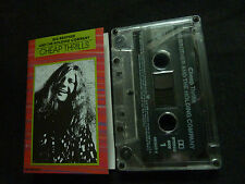 BIG BROTHER AND THE HOLDING COMPANY CHEAP THRILLS ULTRA RARE CASSETTE TAPE!
