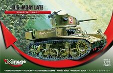 M3A1 LATE U.S. LIGHT TANK - PACIFIC THEATER MARKINGS (HONEY/STUART) 1/72 MIRAGE