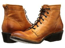 New in Box Womens Frye Carson Lace Up Brown Cognac Size 6.5 MSRP $ 298