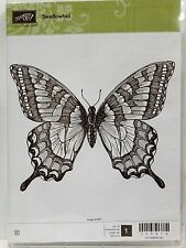 Stampin Up SWALLOWTAIL clear mount stamp NEW Large butterfly