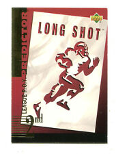 1994 Upper Deck Predictor Award Winner Prize #H20 Long Shot/Errict Rhett/Shuler