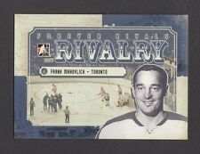 ITG Forever Rivals Rivalry Frank Mahovlich Toronto Maple Leafs Card Look! #RI-03