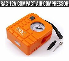 RAC 12V Compact Air Compressor, Car & Motorbike, Tyre Inflator and Deflator