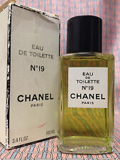 Vintage early 1990s Chanel No 19 LARGE 3.4 oz 100 ml Eau de Toilette OLD FORMULA