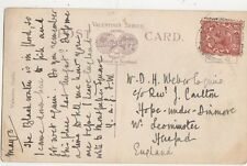 Mr D H Weber c/o Rev J Carlton Hope Under Dinmore Leominster 1920 344a