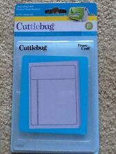 Provo Craft Cuttlebug Embossing Folder - Journaling Card - A2