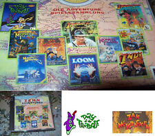 10 ZEHN ADVENTURES LUCASARTS  Monkey Tentacle usw. alle DEUTSCH