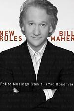 Acc, New Rules: Polite Musings from a Timid Observer, Bill Maher, 1594862958, Bo