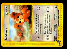 POKEMON SKYRIDGE (ENGLISH CARD) CARTE N° 109/144 TEDDIURSA