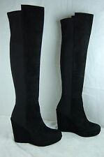 "Stuart Weitzman for  scoop ""Demiswoon"" 5050 wedge Over the Knee Boots size 9.5"