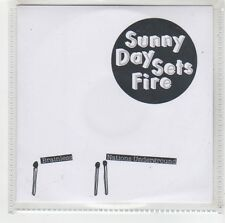 (FW256) Sunny Day Sets Fire, Brainless / Nations Underground - 2005 DJ CD