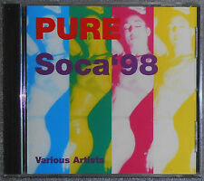 PURE SOCA 98, Various Artists, Kenny J, Rootsman, Chandlier, Rare Import CD, NEW