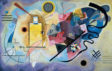 Yellow Red Blue 1925 Wassily Kandinsky Abstract Contemporary Print Poster 24x36