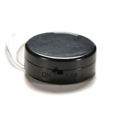 1x CR2032 Coin Button Cell Battery Holder Case With ON/OFF Switch Leads Black BM