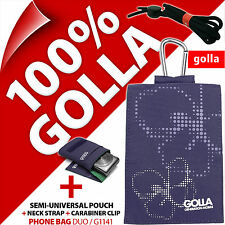 Golla Purple Phone Case Cover Pouch Bag for Apple iPhone 3G 3GS 4 4S 5 5S 5C SE