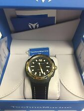 Technomarine TM-515007 Men's Sun Reef Black & Gold Swiss Watch
