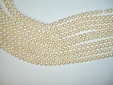 Japanese Cultured Pearl Strands, 6.5 - 7 mm, Vintage (6 Available)