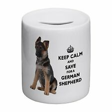 Keep Calm And Save For A German Shepherd Novelty Ceramic Money Box