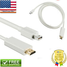 6 FT Thunderbolt Mini Display Port To HDMI Cable For Apple iMAC Macbook Air Pro