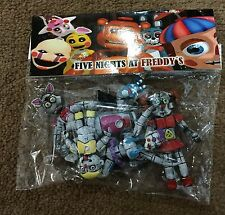 MEXICAN TOY ACTION FIGURE MAQUETA 5 PACK FIVE NIGHTS FREDDYS BOOTLEG NOV 2016