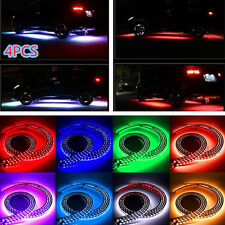 Car Under Glow Underbody 8 Colors RGB Flexible LED Strip Neon Lights Kit+Remote