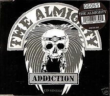THE ALMIGHTY ADDICTION LIMITED EDITION PICTURE CD SINGLE NUMBERED CASE 1993 MINT