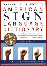 American Sign Language Dictionary by Martin L. A. Sternberg (1998, Hardcover,...