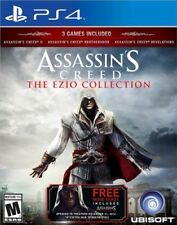 Assassins Creed The Ezio Collection (Sony PlayStation 4, 2016) FREE MOVIE TICKET