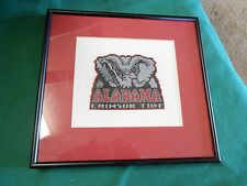 Great Collectible ALABAMA CRIMSON TIDE Framed Art Work