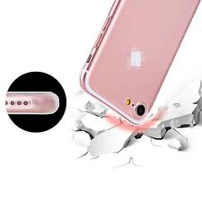 For iPhone 7 Plus Ultra Thin Slim Silicone Soft Clear TPU Back Case Skin Cover
