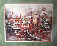 Dimensions Gold Christmas Cross Stitch CHRISTMAS COVE 8494 ~ Valente ~Sealed
