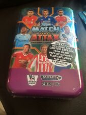 MATCH ATTAX 15/16 SEALED MEGA TIN WITH GOLD LIMITED EDITION