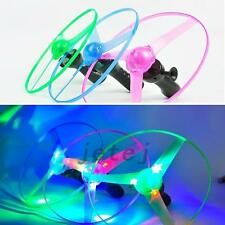 Flying UFO Saucer Helicopter Multi Color LED Lights - Outdoor Educational Toy