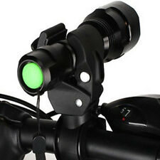 360° Radsport Cycling Bike Mount Holder Bracket Flashlight Torch Clip Clamp NEU!