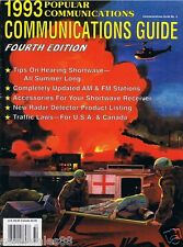1993 POPULAR COMMUNICATIONS GUIDE Short Wave Accessories Radar Detector Products