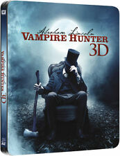 Abraham Lincoln Vampire Hunter 3D+2D - Ltd Edition Steelbook Blu-Ray New &Sealed