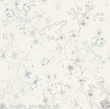 Rasch Wallpaper, Grey / White Floral Pattern, Feature, Modern Design BN 268941