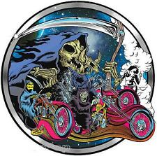 Smoke Out! STICKER Decal Dirty Donny Choppers Grim Reaper Burnout DD72