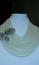 "BEAUTIFUL HEIDI DAUS ""BEST IN BOWS"" 13 STRAND NECKLACE"