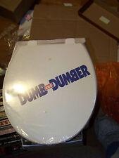 Rare Farrelly Bros Dumb & Dumber Promo Display Toilet Jim Carrey Jef Daniels