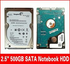"""Seagate 500GB ST9500420AS 7200RPM HDD 2.5"""" SATA Laptop 16MB Hard Driver For PC"""