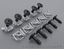 10x BMW Set Unterfarschutz Clips Motorschutz Schraube Reparatur E39 E38 E52 Z8