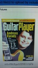 Guitar Player magazine April 2011 Andreas Varady steve vai onboard midcut mod