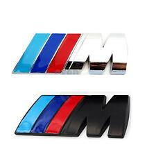 2016 NEW 3D  M series Sticker Decal metal Logo for BMW rear emblem Badge Chrome