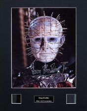 Doug Bradley Pinhead Hellraiser Ver1 Signed Photo Film Cell Presentation